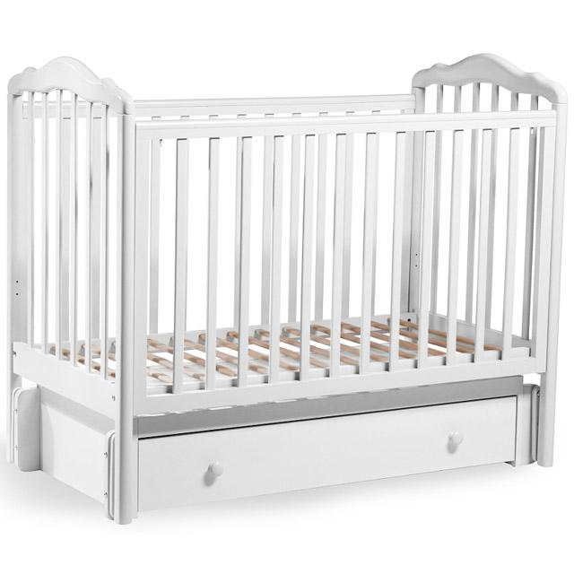 Кроватка Sweet Baby Tesoro II Bianco Белый<br>