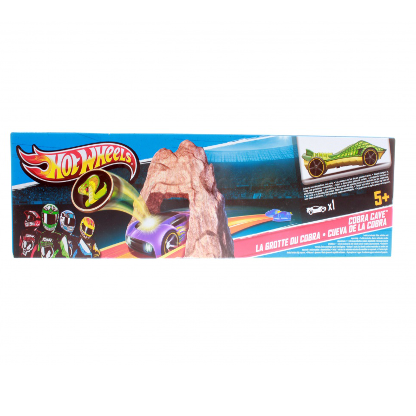 ������� ����� Hot Wheels ���� ������� LaGrotte Du Cobra