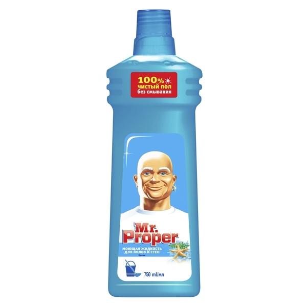 Моющая жидкость Mr Proper Универсал для уборки 750 мл Океанская свежесть<br>