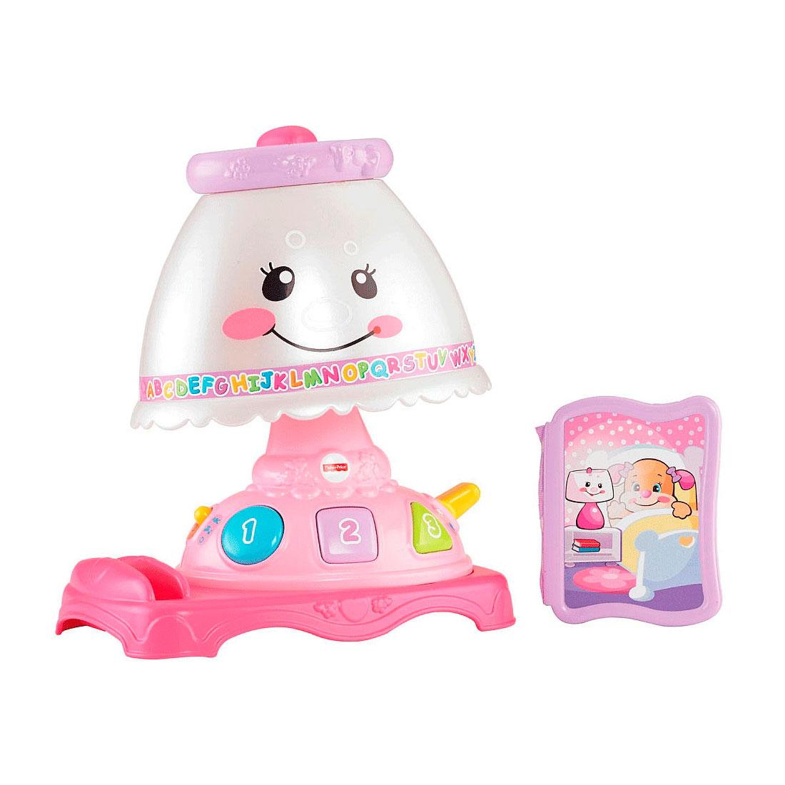 Развивающая игрушка Fisher Price Обучающая Лампа<br>