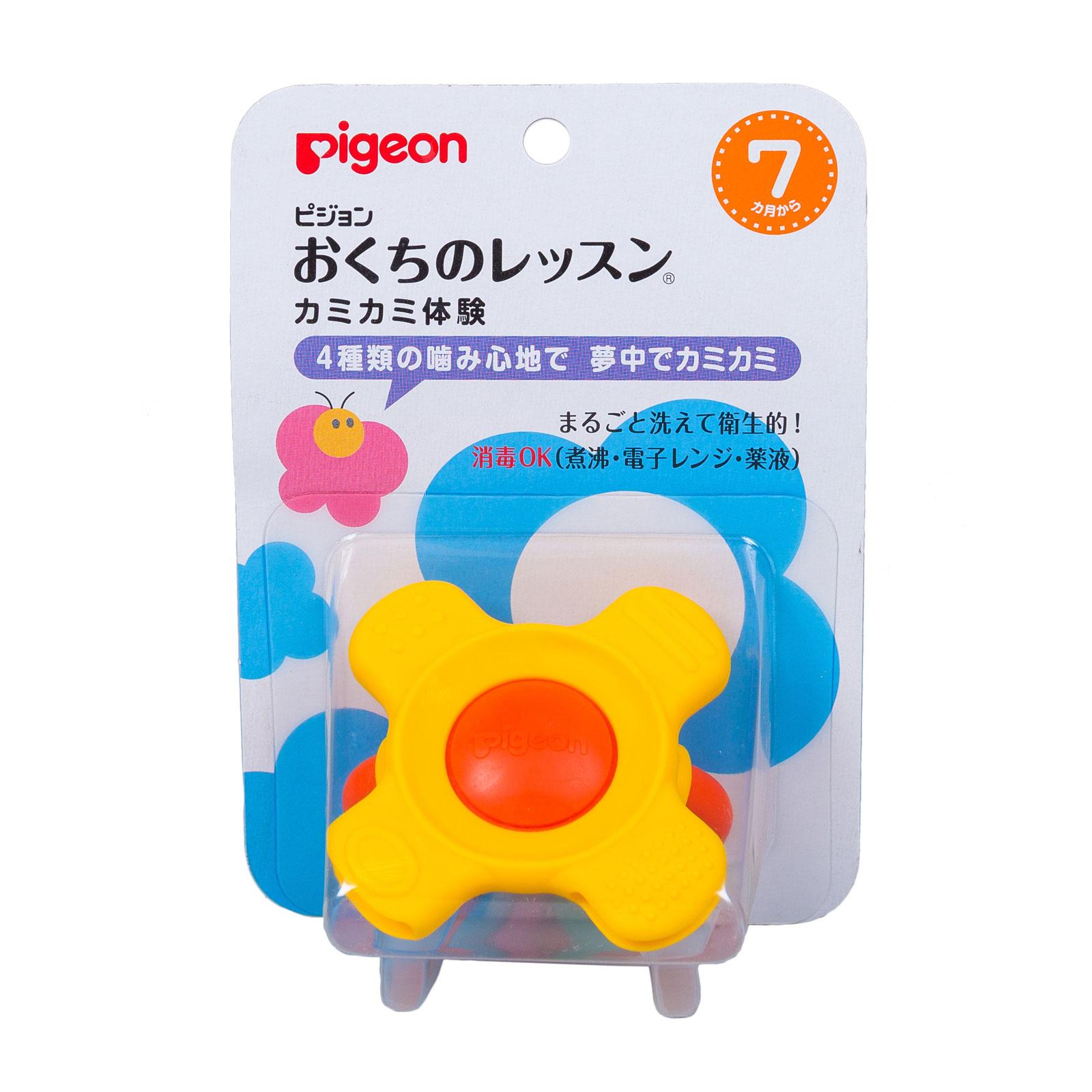 Прорезыватель-игрушка Pigeon Кольцо с 7 мес.<br>