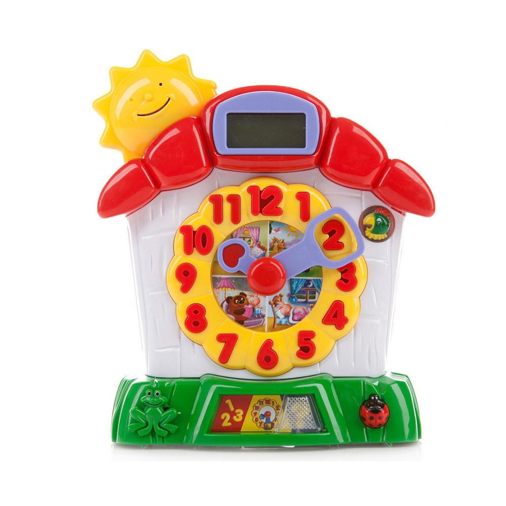 Развивающая игрушка Умка Винни пух Обучающие часы<br>