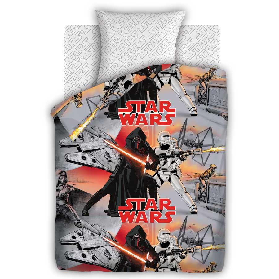 Комплект постельного белья детский 1.5 бязь Непоседа Star Wars с наволочкой 70х70 Противостояние<br>