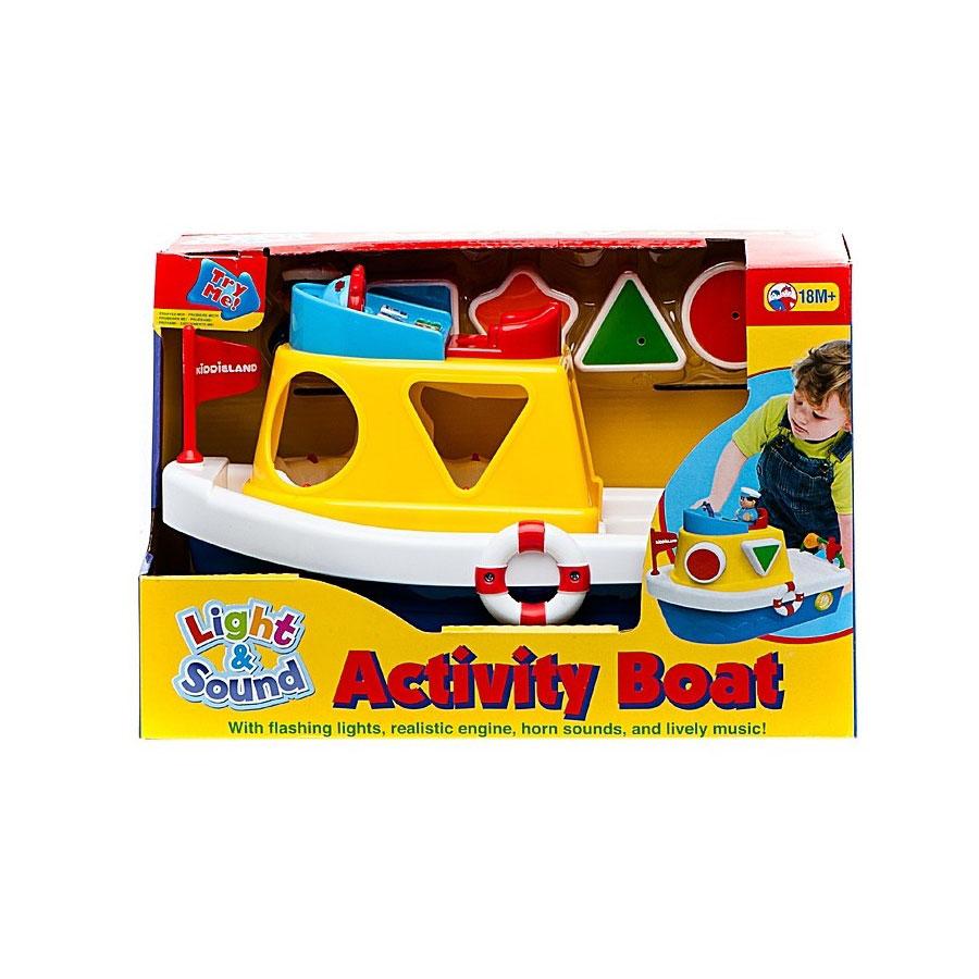 Развивающая игрушка Kiddieland Мой первый корабль - сортер<br>