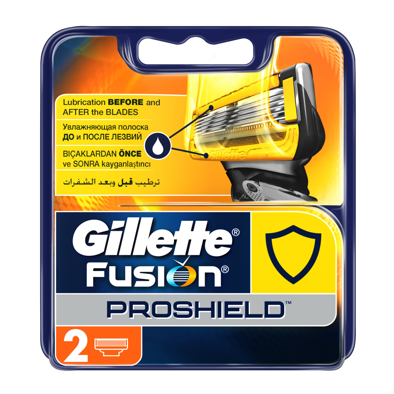 Сменные кассеты для бритья Gillette Fusion ProShield 2 шт<br>