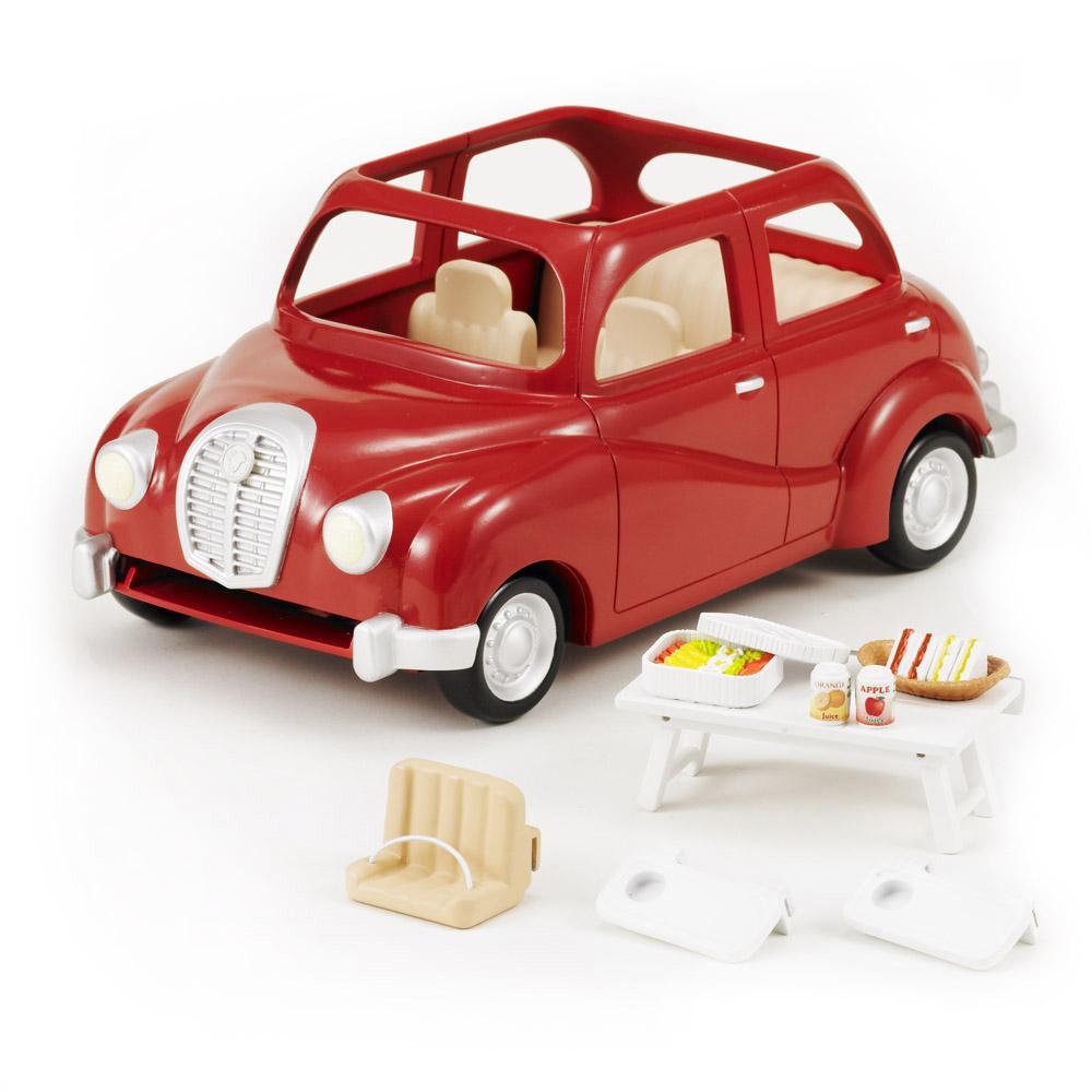 Мебель и аксессуары Sylvanian Families Семейный автомобиль красный<br>