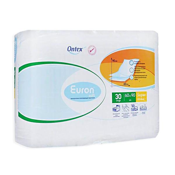 Пеленки Euron Soft Super 60х90 см (30 шт)<br>