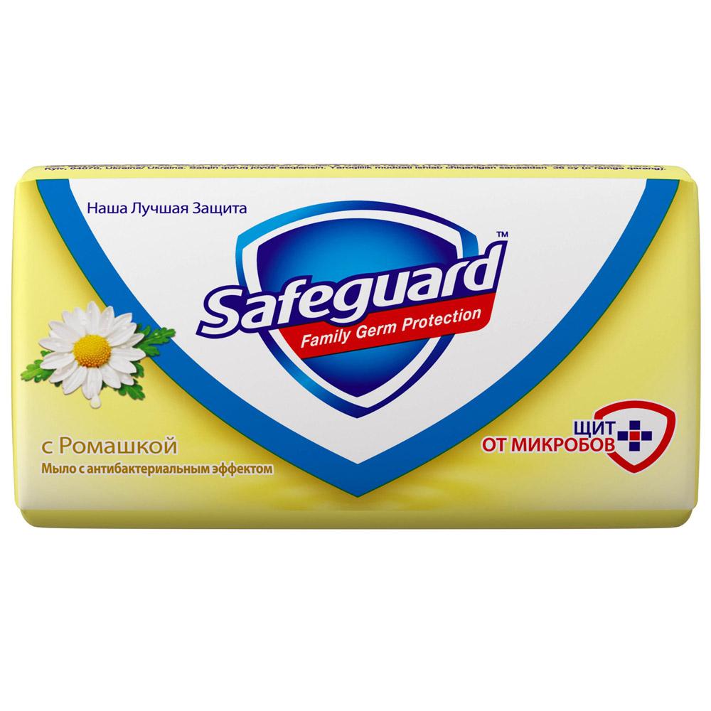 Мыло Safeguard антибактериальное 90 гр с Ромашкой<br>