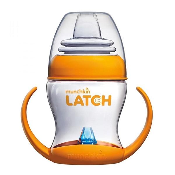 Поильник-чашка Munchkin LATCH обучающий с ручками 220мл (с 4 мес)<br>