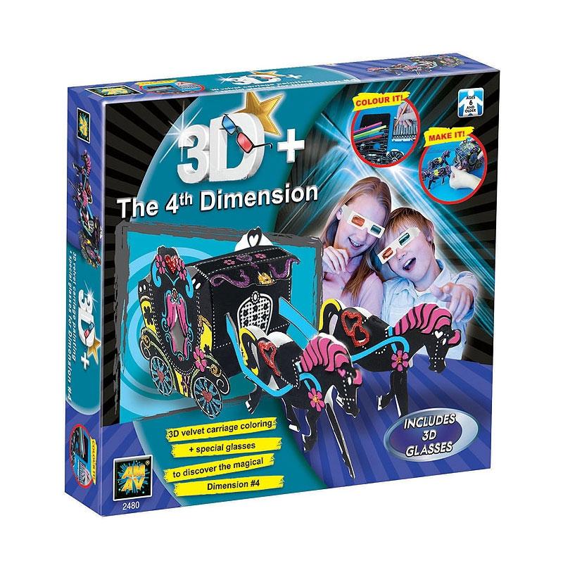 Наборы 3D из Бархата Diamant Карета из бархата 3D<br>