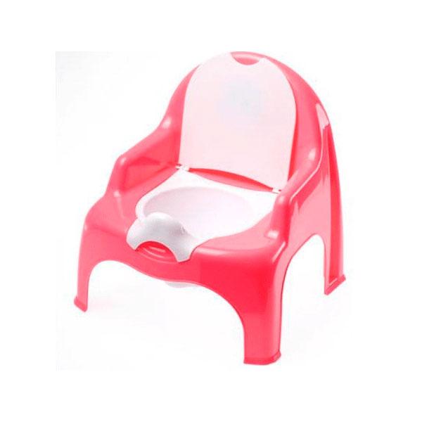 Горшок-стульчик DUNYA Plastic Цвет - розовый<br>