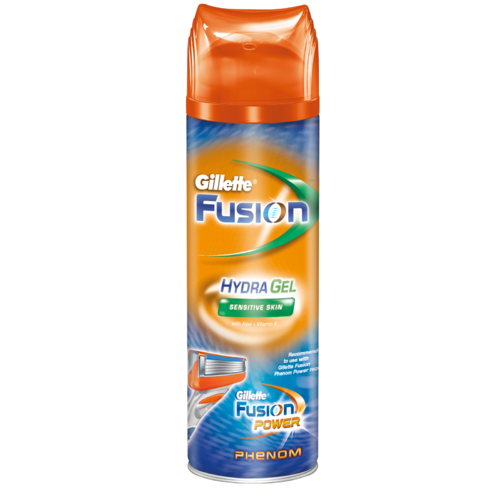 ���� ��� ������ Gillette Fusion Phenom Hydra Gel 200 �� Sensitive Skin ��� �������������� ����