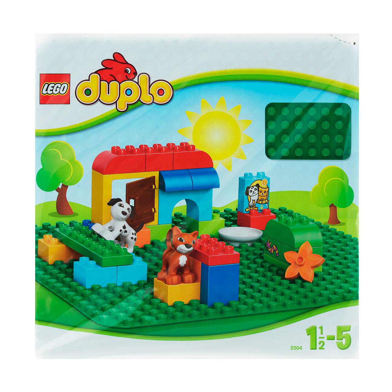 Конструктор LEGO Duplo 2304 Строительная пластина<br>