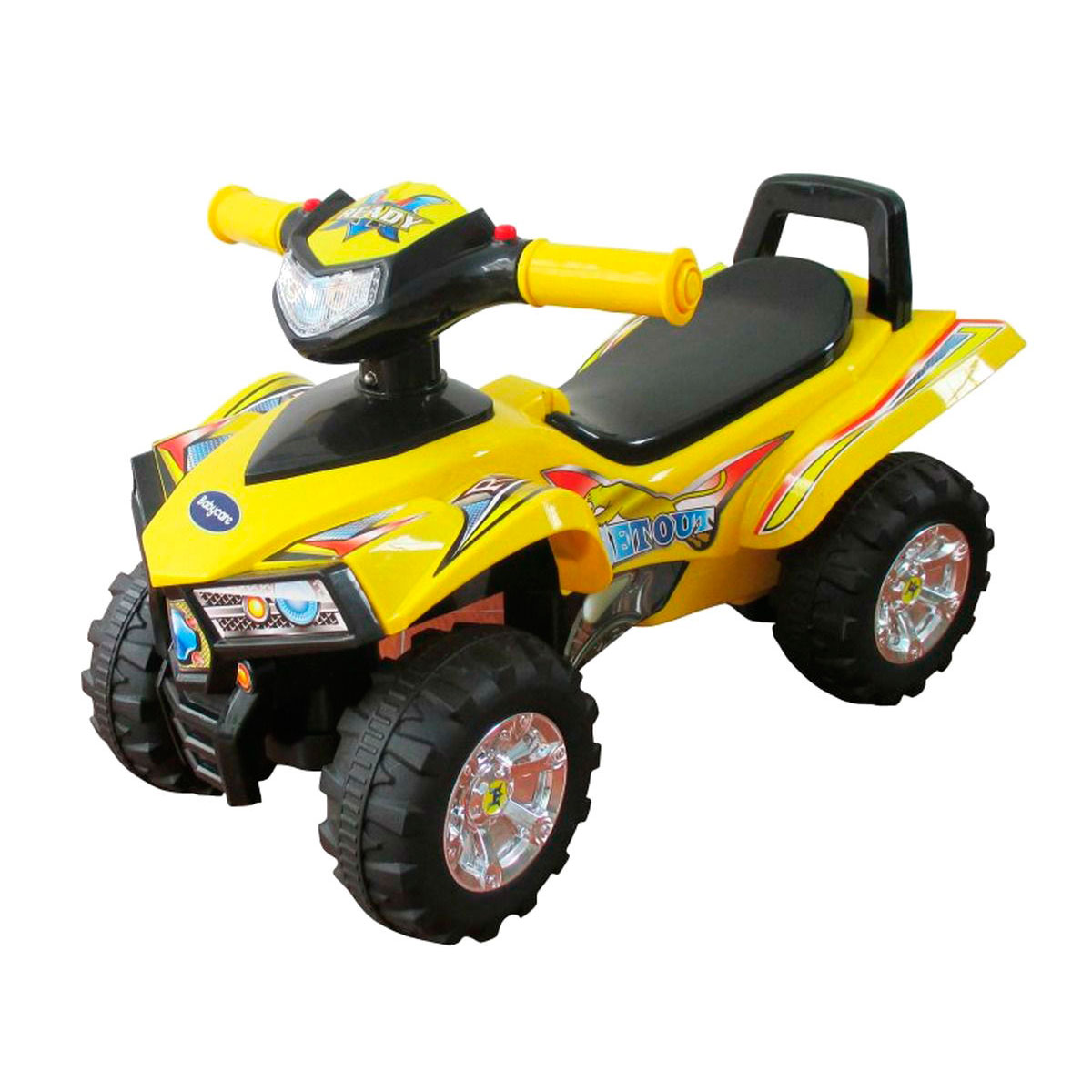 Каталка Baby Care Super ATV Yellow<br>
