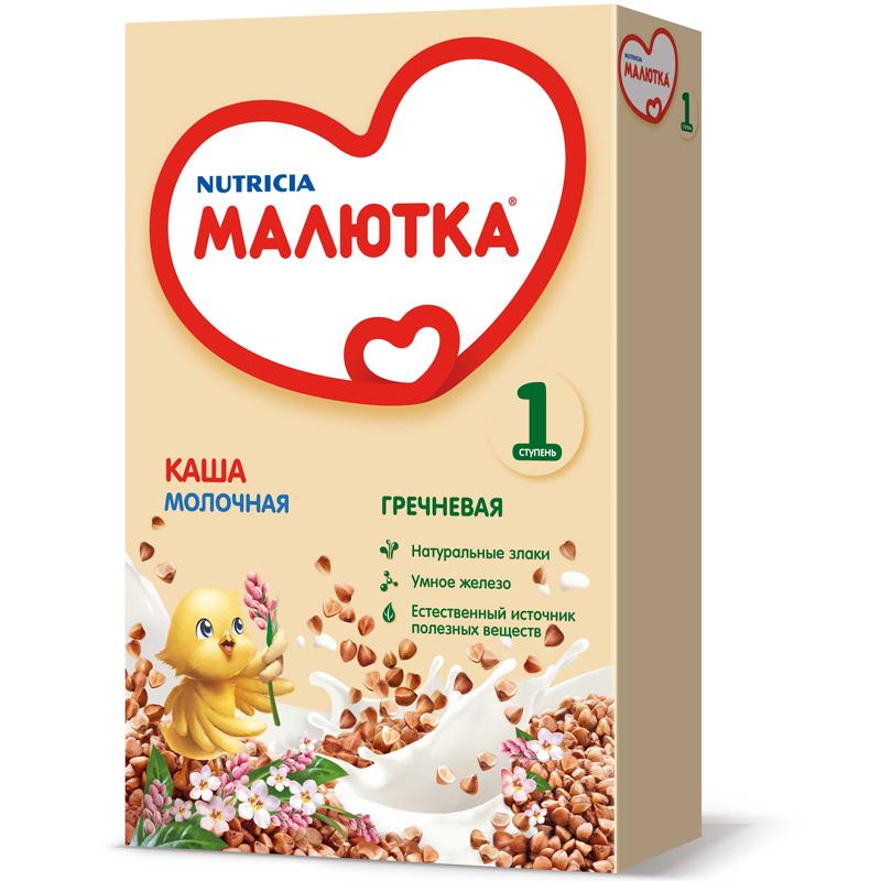 Каша Малютка молочная 220 гр Гречневая (с 4 мес)<br>