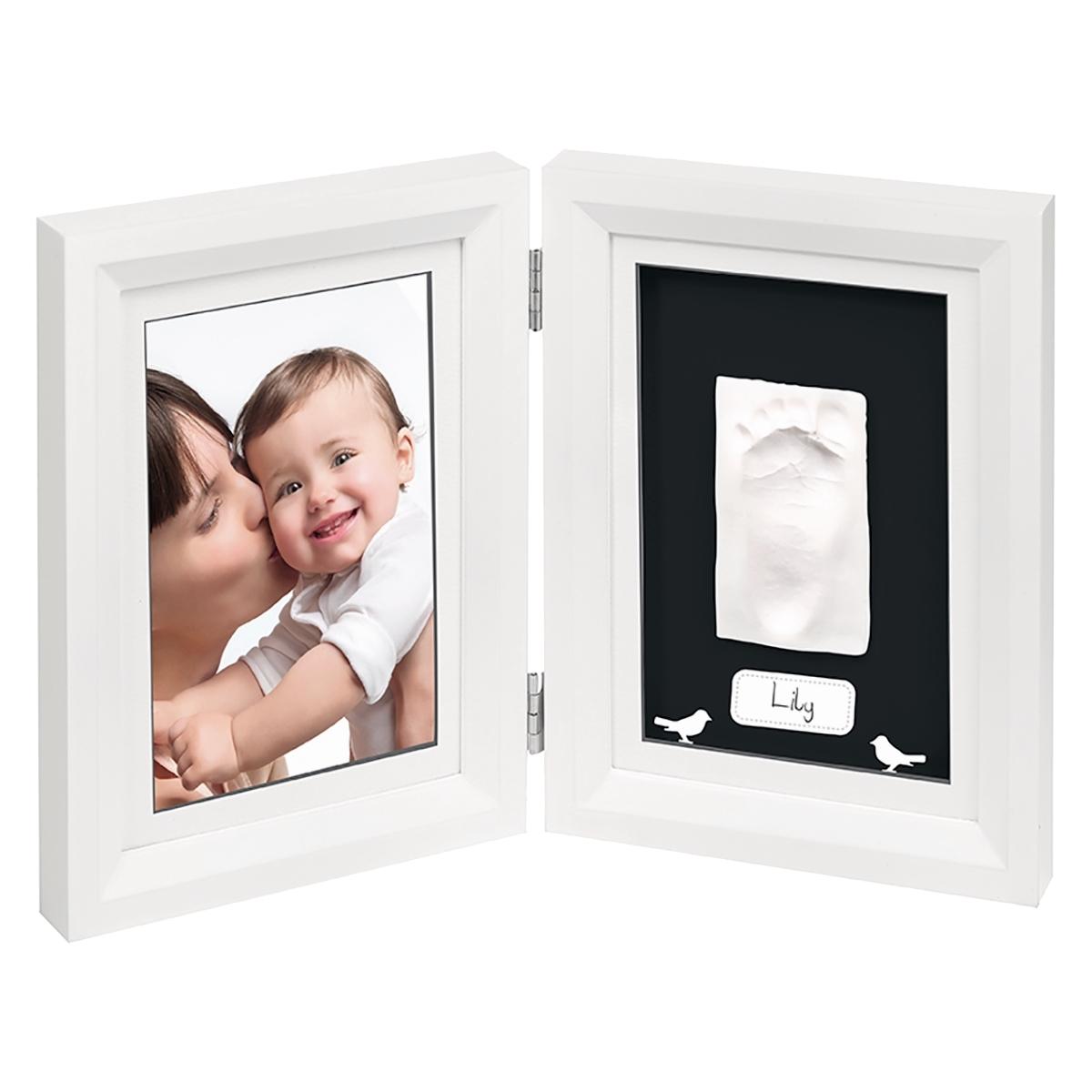 Рамочка Baby Art PRINT Frame двойная Белый с черным<br>