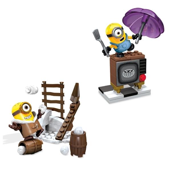 Игровой набор Mega Bloks Гадкий Я Развлечения миньонов в ассортименте<br>