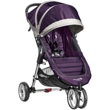 Коляска Baby Jogger City Mini Single Фиолетовая с серым