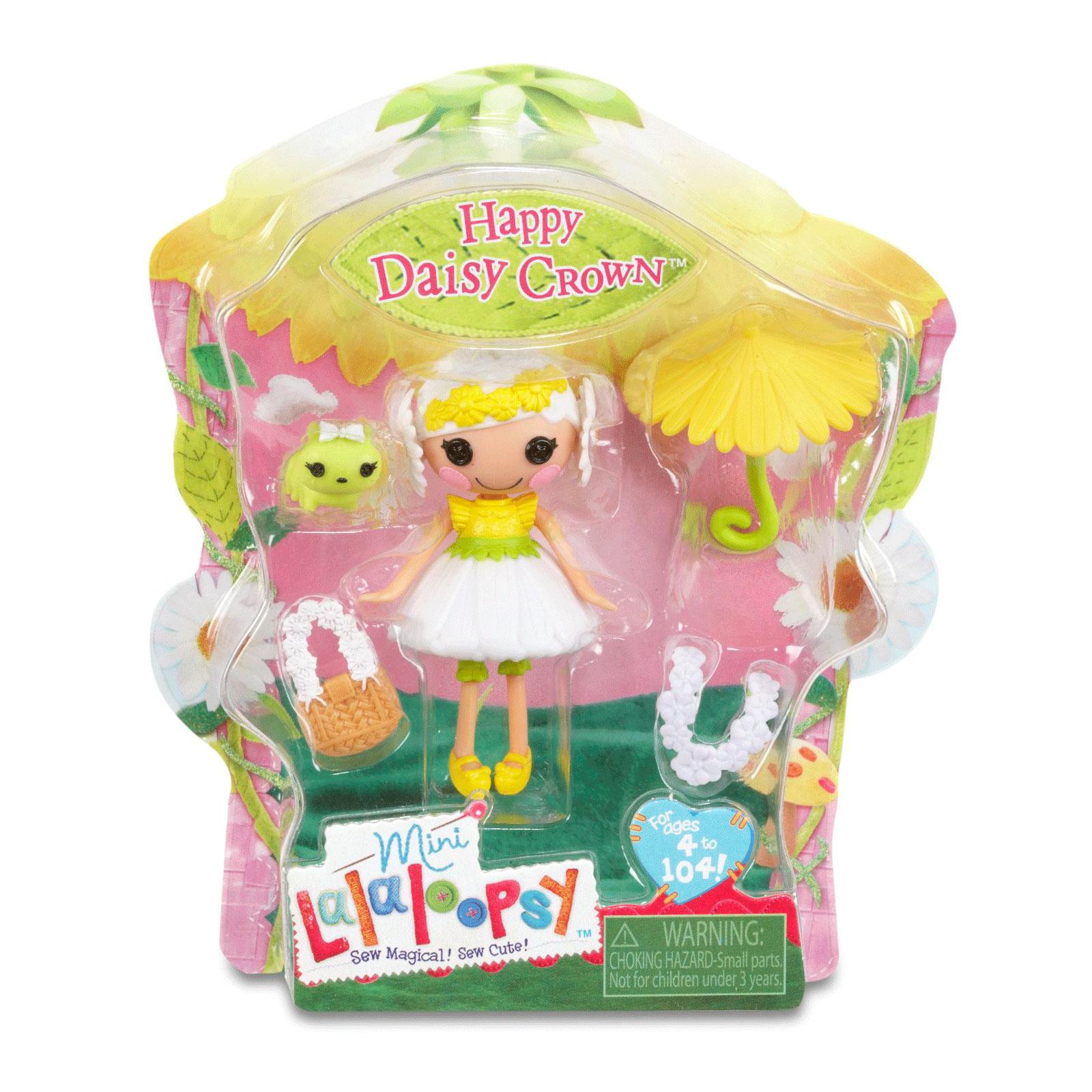 Кукла Mini Lalaloopsy с аксессуарами Happy Daisy Crown