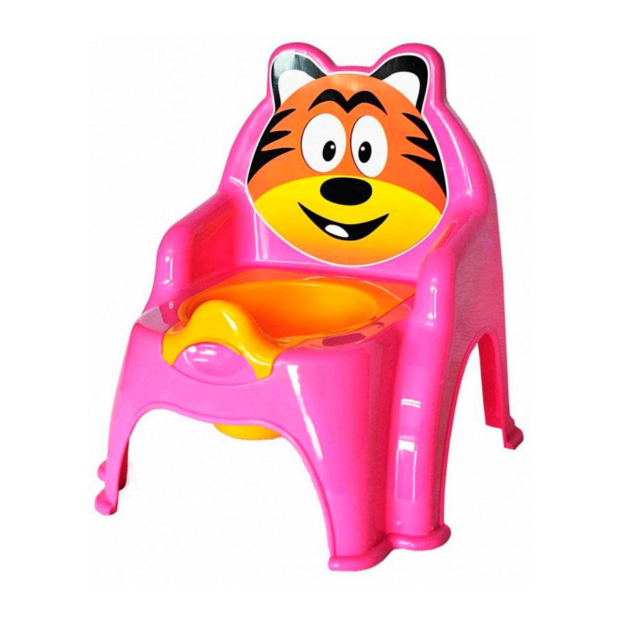 Горшок Doloni Тигра розовый<br>