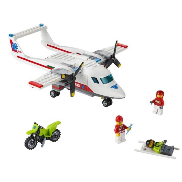 Конструктор LEGO City 60116 Самолет скорой помощи<br>