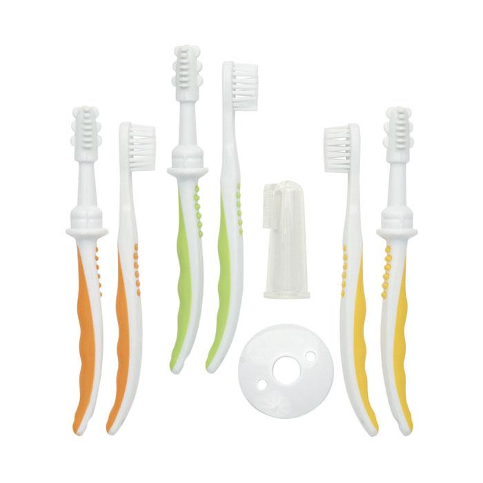 Набор Мир Детства зубных щеток с 4 мес<br>