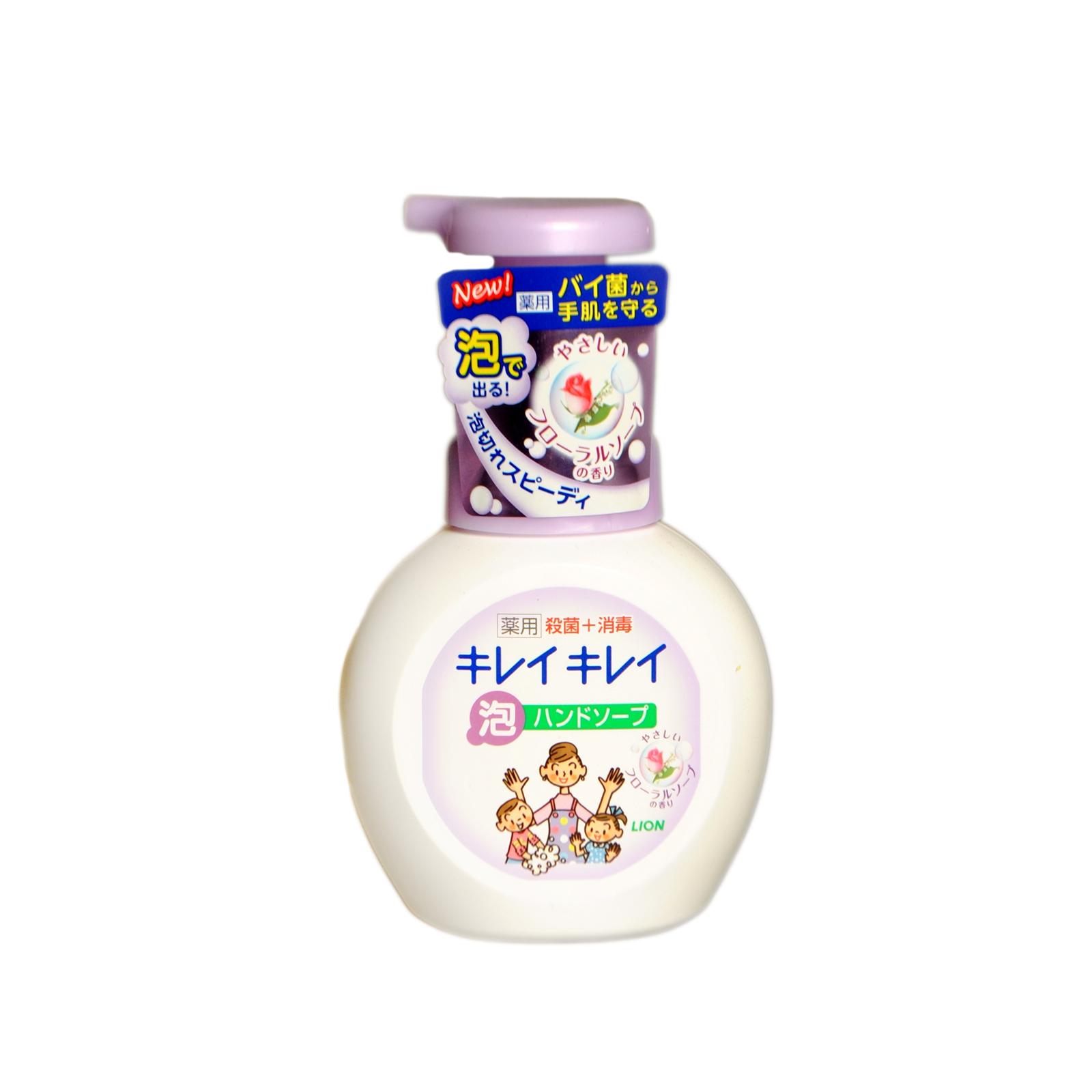 Жидкое мыло для рук Lion KireiKirei с цветочным ароматом (запасная упаковка) 250 мл<br>