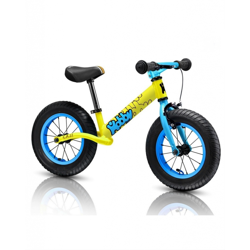 ������������ Hobby-bike Balance Twenty two Yellow Aluminium