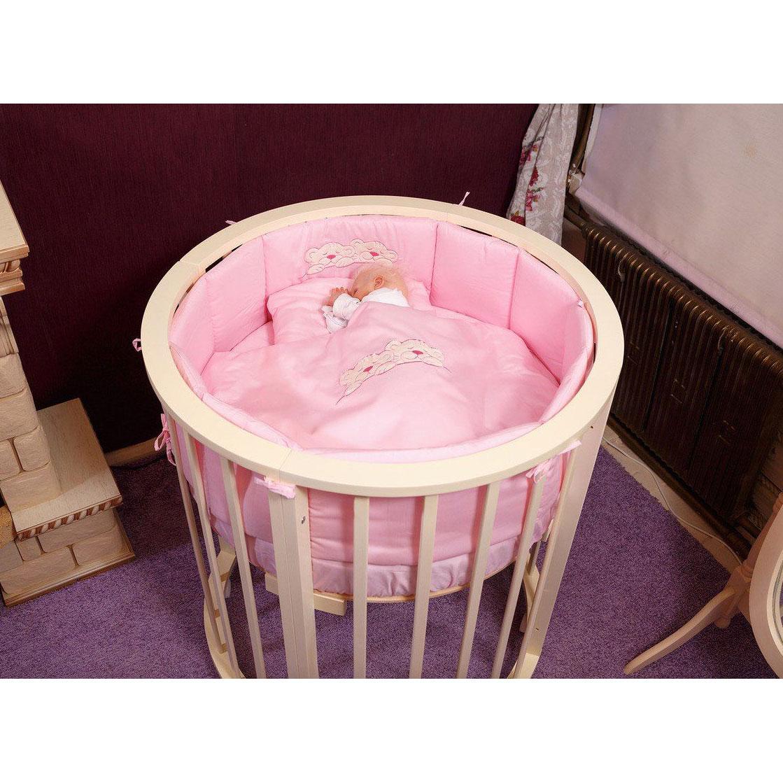 Комплект постельного белья Incanto 6 предметов Розовый<br>