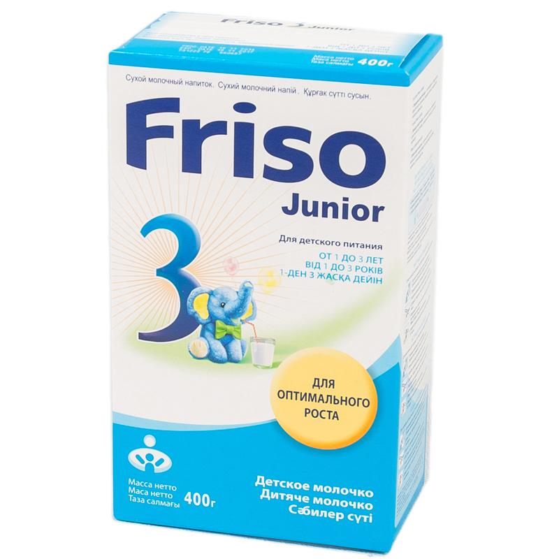 Заменитель Friso Junior 400 гр №3 (с 12 мес)<br>