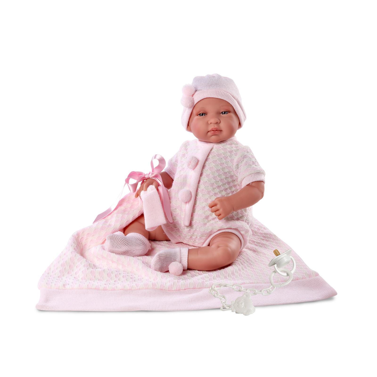 Кукла Llorens Juan Младенец 43 см с одеялом<br>