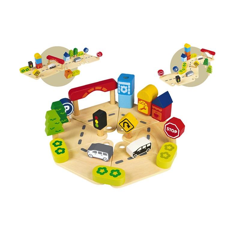 Развивающая игрушка I`m Toy Дорожное движение<br>