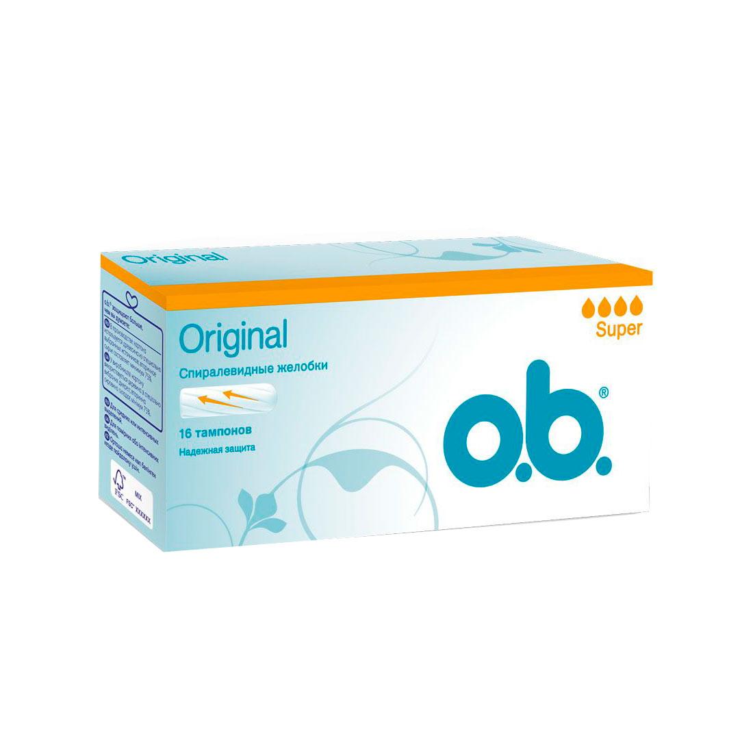 ������� o.b. Original Super 16 ��