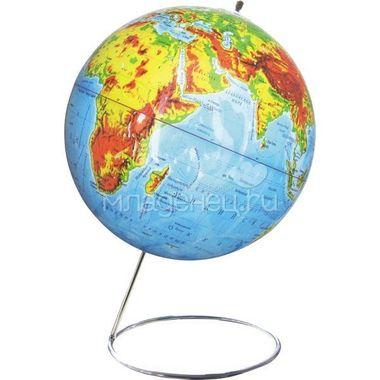 Глобус ROTONDO Физический 25 см на металлической подставке