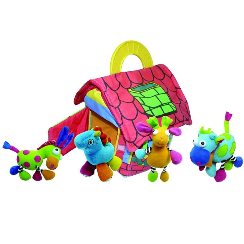 Развивающая игрушка Biba Toys Фермерский дом с животными<br>