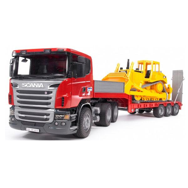 Тягач Bruder Scania С прицепом–платформой