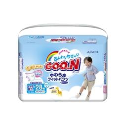 Трусики Goon для мальчиков 13-25 кг (28 шт) Размер SPB