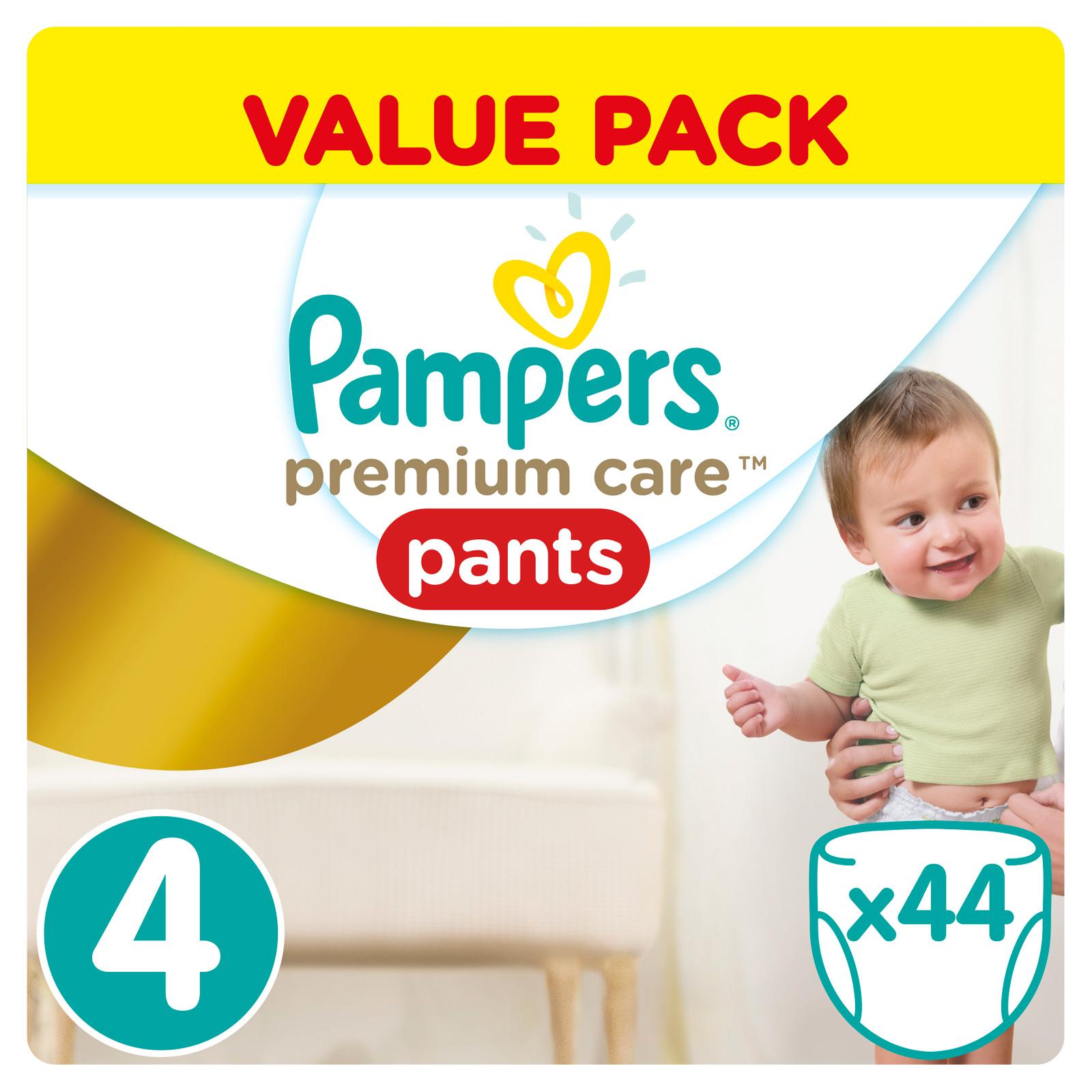 Трусики Pampers Premium Care 9-14 кг (44 шт) Размер 4<br>