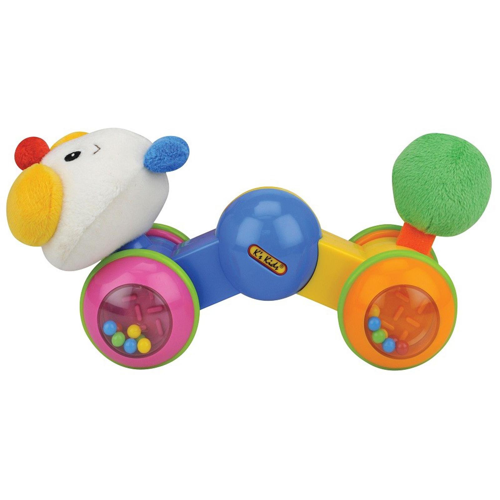 Развивающая игрушка K&amp;#039;s Kids Гусеничка: нажми и догони с 6 мес.<br>