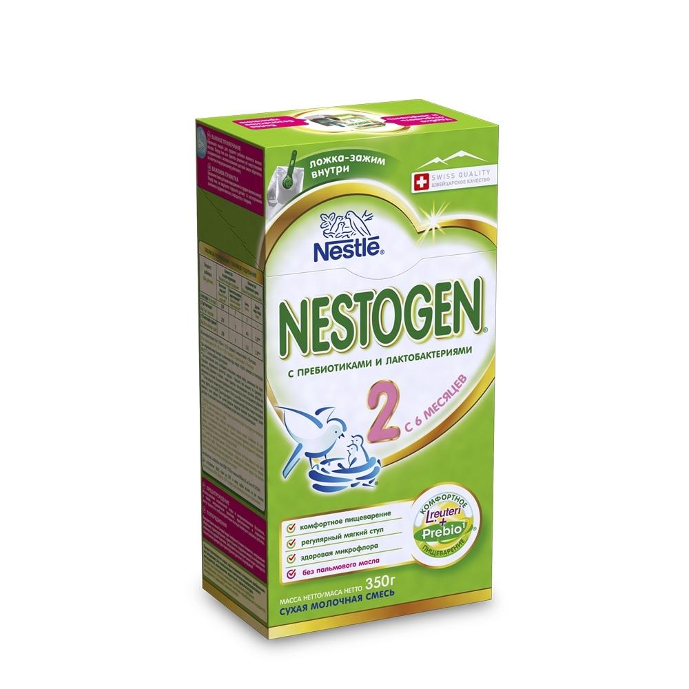 Молочная смесь Nestle Nestogen 350 гр №2 (с 6 мес)<br>