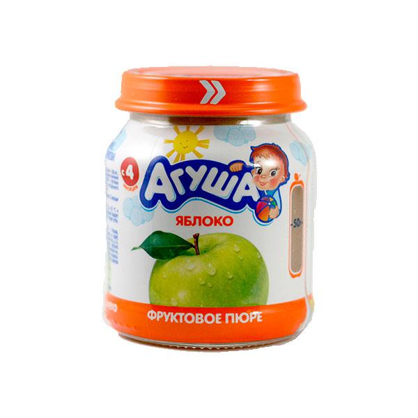 Пюре Агуша фруктовое 115 гр Яблоко (с 4 мес)<br>