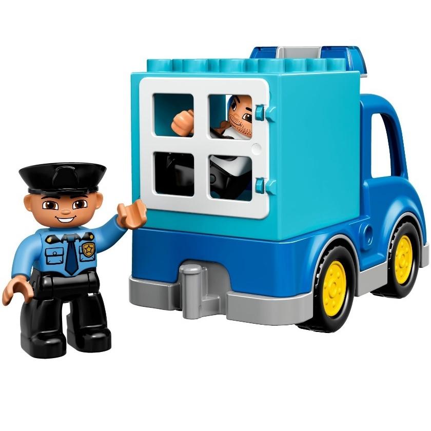 Конструктор LEGO Duplo 10809 Полицейский патруль<br>