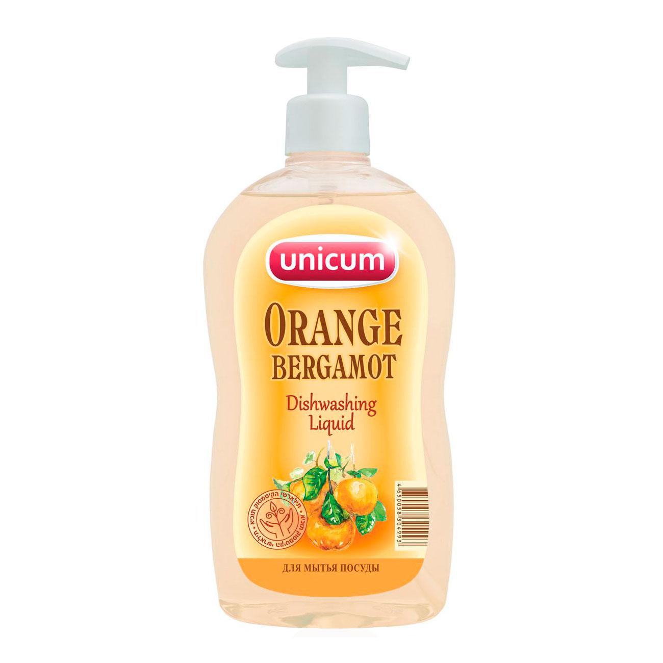 Средство для мытья посуды Unicum апельсин-бергамот 550 мл<br>