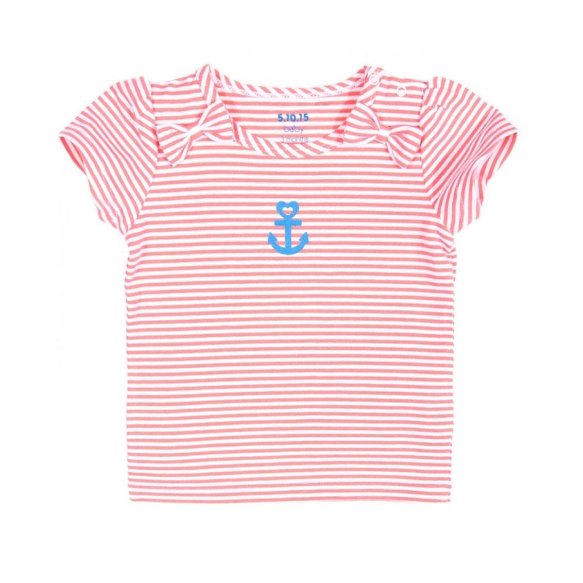 Блузка 5.10.15 светло-розовая Размер 74