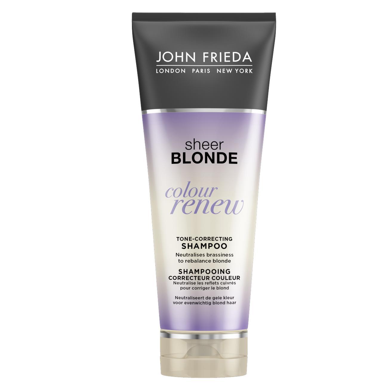 Шампунь John Frieda Sheer Blonde для восстановления и поддержания оттенка осветленных волос 250 мл<br>
