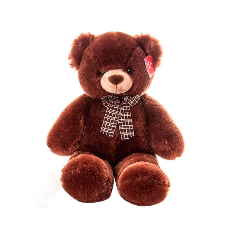 Мягкая игрушка AURORA Медведь коричневый с бантом 69см<br>