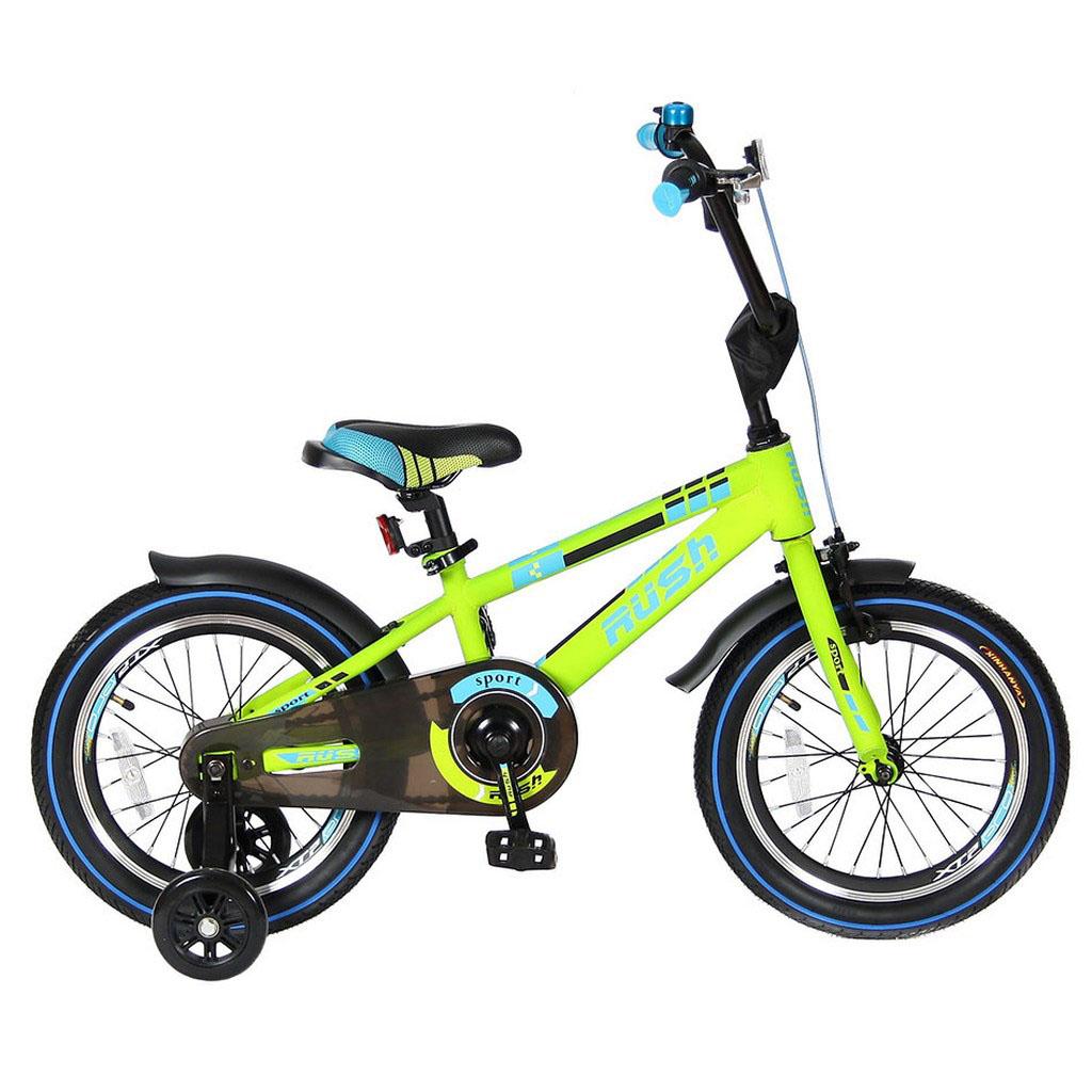 Велосипед двухколесный Velolider 16 Rush Sport R16 Зеленый<br>