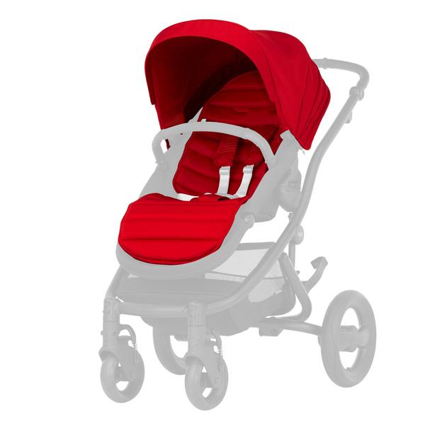 Капюшон, текстиль, накидка на ноги для коляски Britax Roemer Affinity 2 Colour pack Flame Red<br>