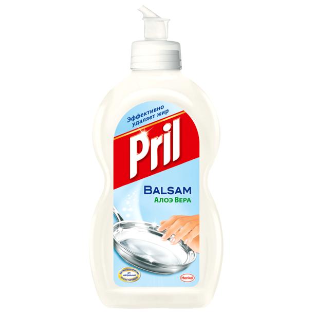 Средство для мытья посуды PRIL 450 мл. Алоэ Вера<br>