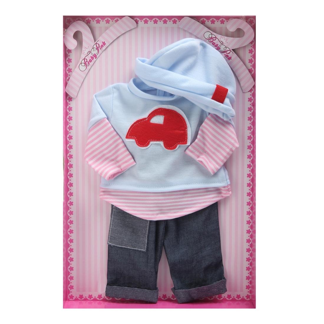 Одежда для кукол LOKO TOYS Baby Pink<br>